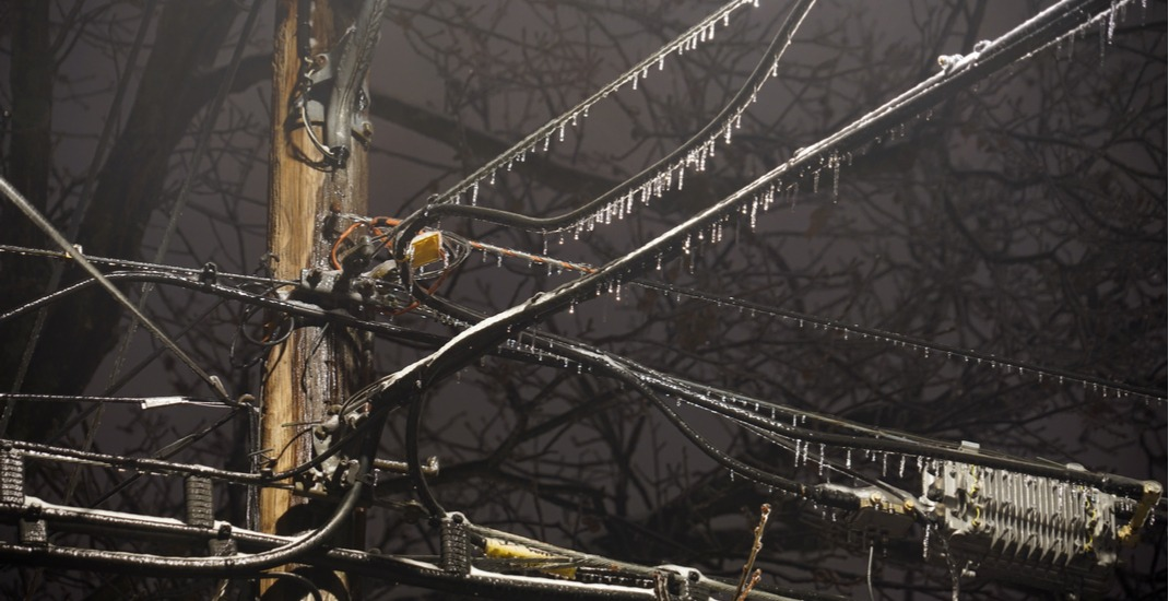 Thousands of Quebecers left without power after freezing rain