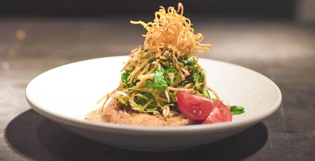 Katsu chicken saladjoey restaurants