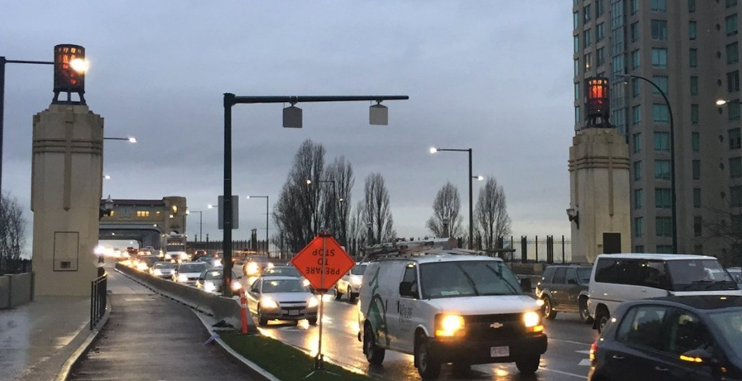 Burrard Bridge lamp beacons permanently relit to honour war veterans