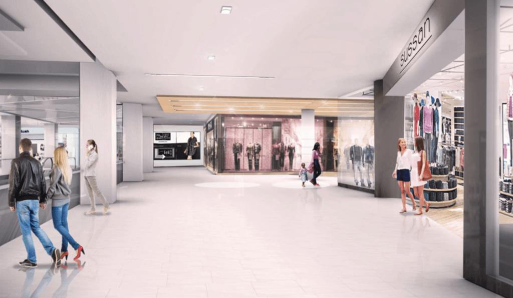 Montreal Eaton Centre-Complexe Les Ailes