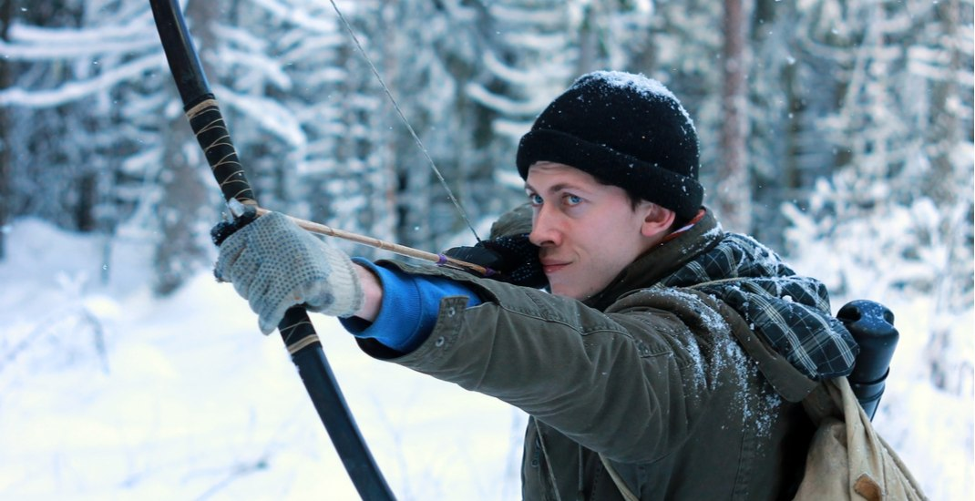 You can now try snow archery in Montreal