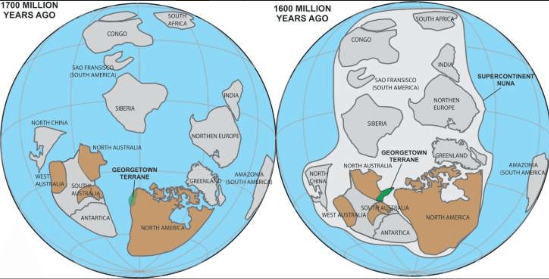 Canada and Australia were connected in the past: Study