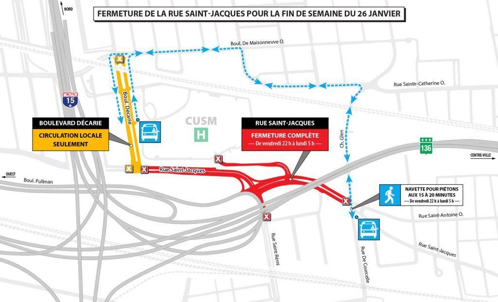 Turcot Interchange closures