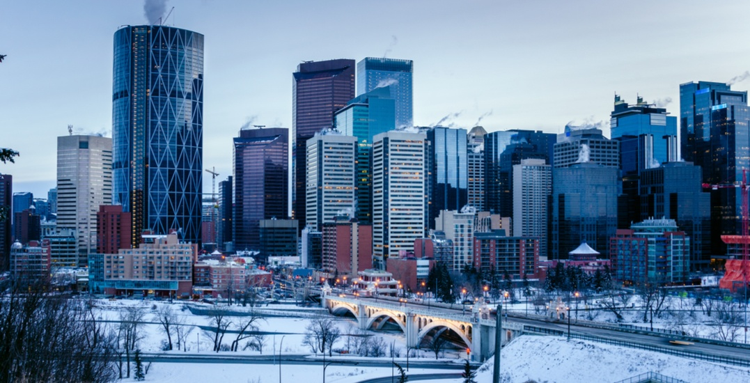 It could snow up to 30 cm in areas around Calgary by tomorrow