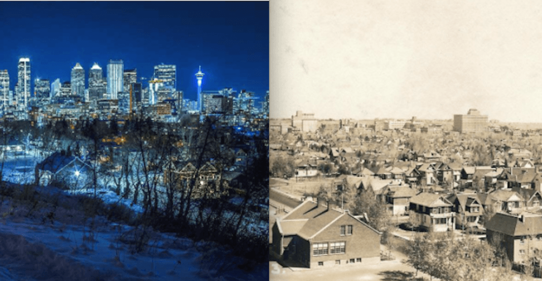 4 Twitter accounts featuring historical photos of Calgary