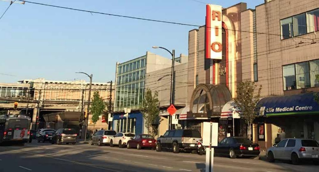 The rio theater 1660 east broadway vancouver