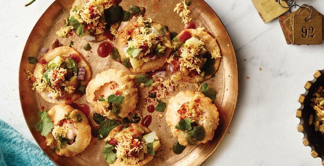 Bombay Street Food chaat indian food