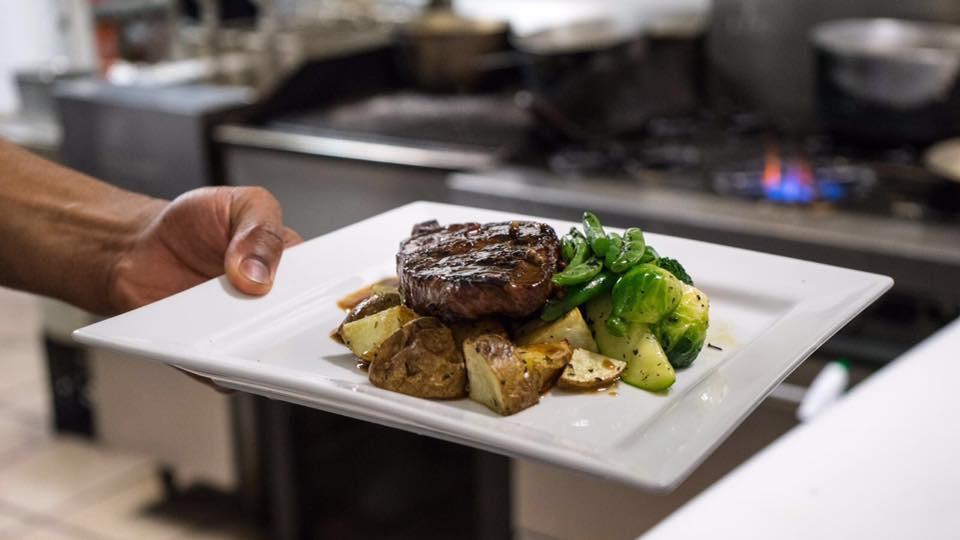 The Station steak