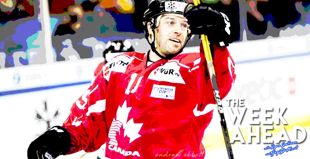 The Week Ahead: Former Canucks' Andrew Ebbett prepares for Olympics