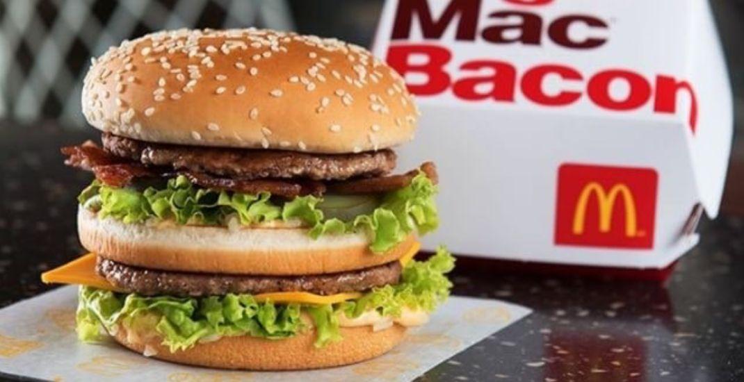 McDonald's celebrates Big Mac's 50th birthday with return of Big Mac Bacon