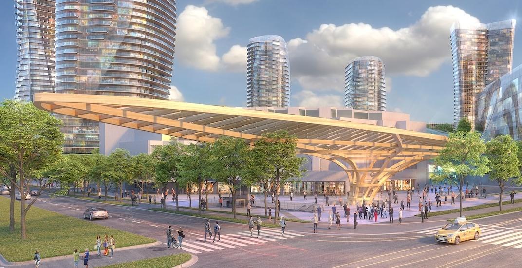 Major upgrades including landmark roof proposed for Canada Line's Oakridge-41st Avenue Station