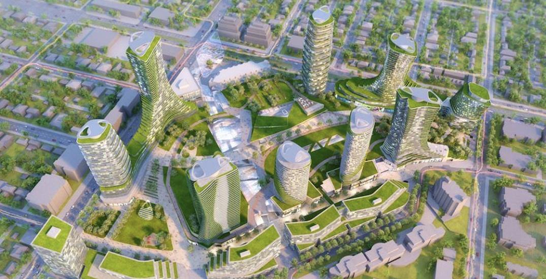 Oakridge centre rendering