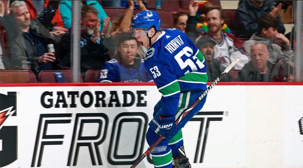 SixPack: Horvat shows he's fully healthy again with his breakaway goal