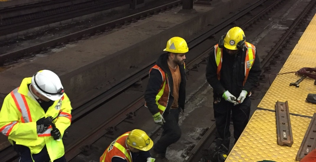 TTC experiencing big delays (again) this morning following cracked track