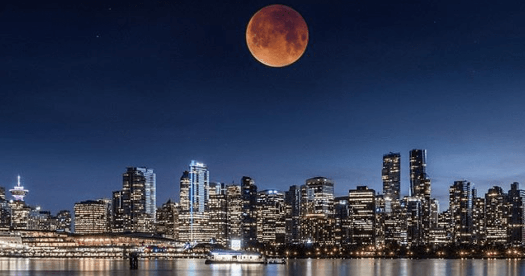 Super Blue Blood Moon eclipse puts on stunning display over Vancouver (PHOTOS)