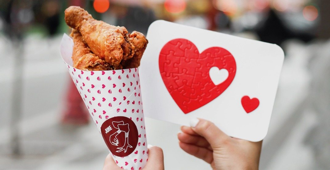 Juke Fried Chicken Bouquets are a thing for Valentine's Day