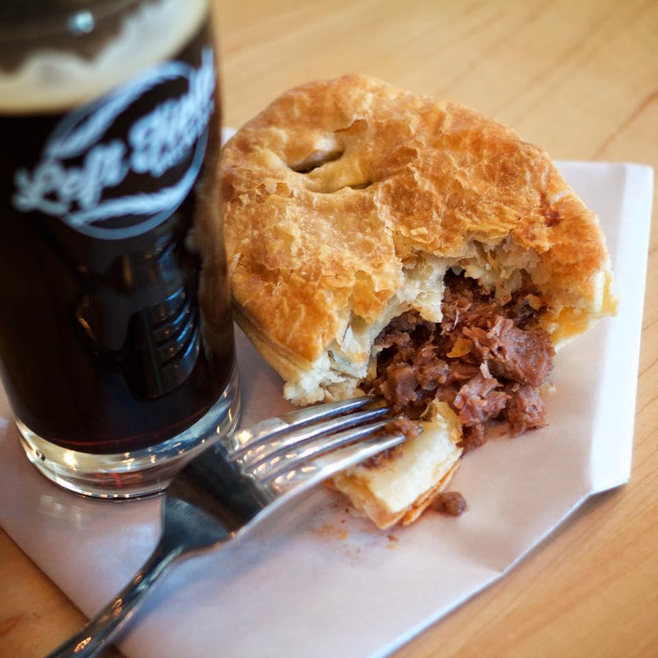 Left Field Brewery Mama Raty's Finnish Meat Pie Pop-Up