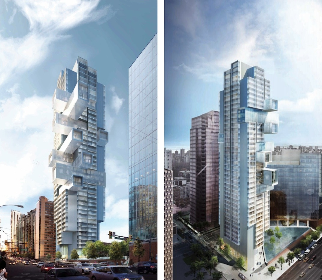 Downtown Vancouver: 'Jenga' Tower In Downtown Vancouver Officially Approved By