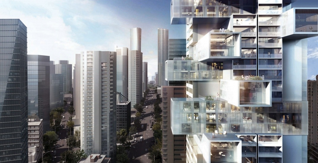 'Jenga' tower in downtown Vancouver officially approved by City Council