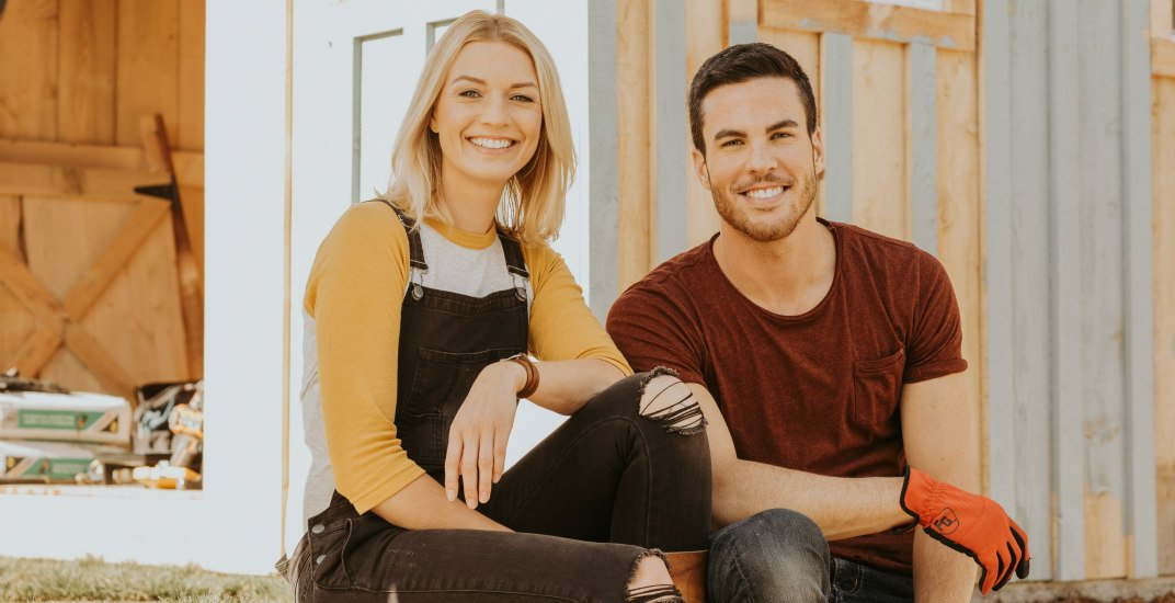 Hgtv stars of backyard builds sarah keenleyside and brian mccourt