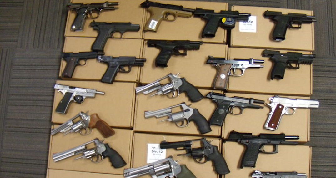Toronto man arrested after police find over 70 guns in his possession