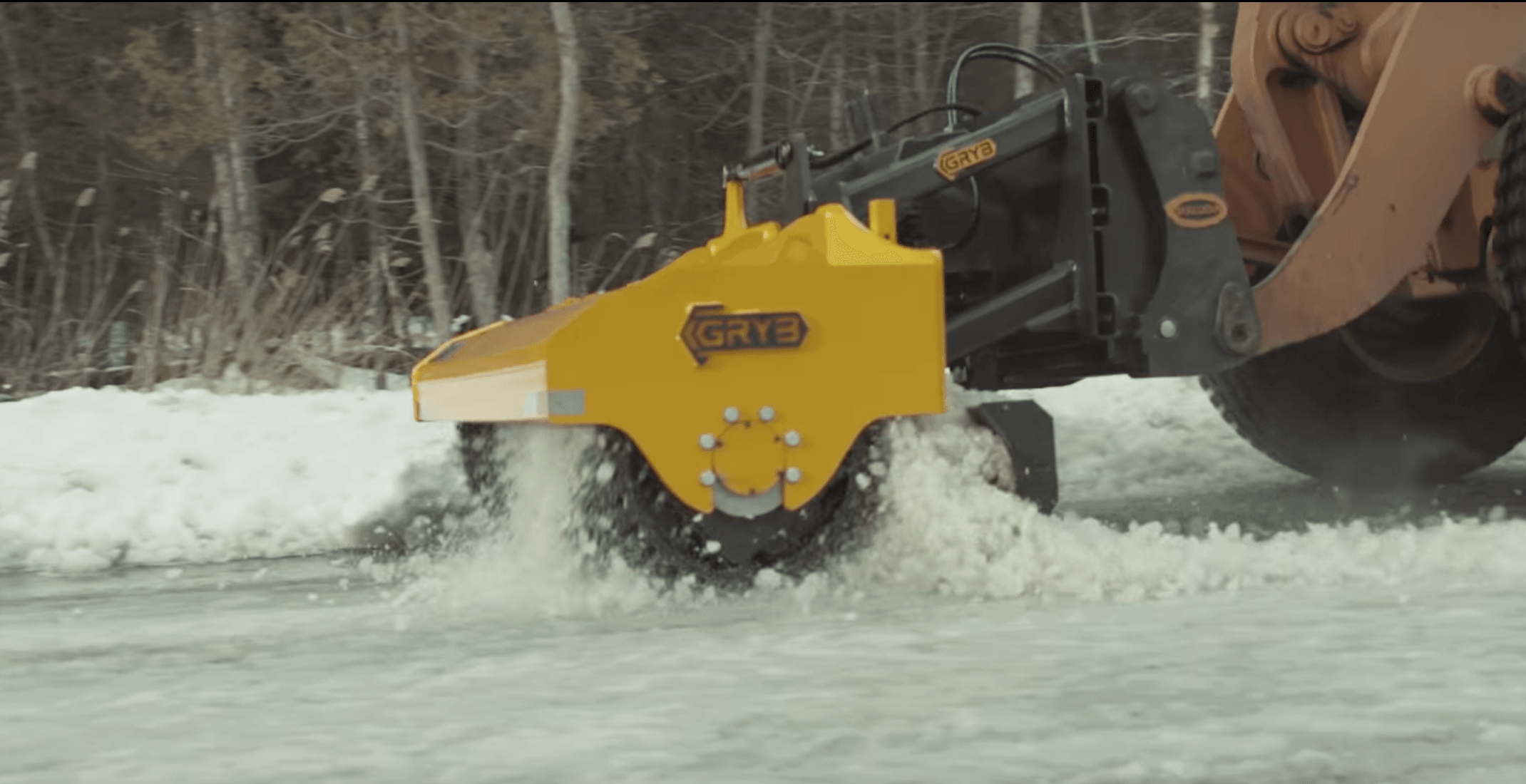 City will use rolling ice-crushing machines to clear slippery sidewalks