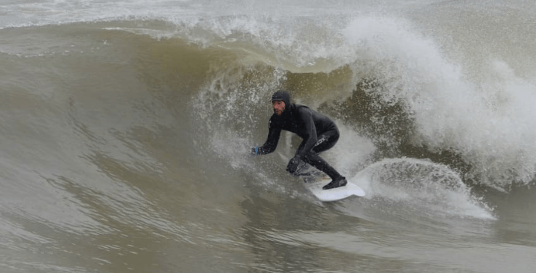 Ontario surfers still hitting local waves during the coldest months (PHOTOS)