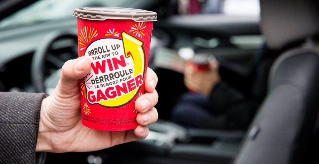 No Roll Up the Rim cups at Tim Hortons this year because of coronavirus