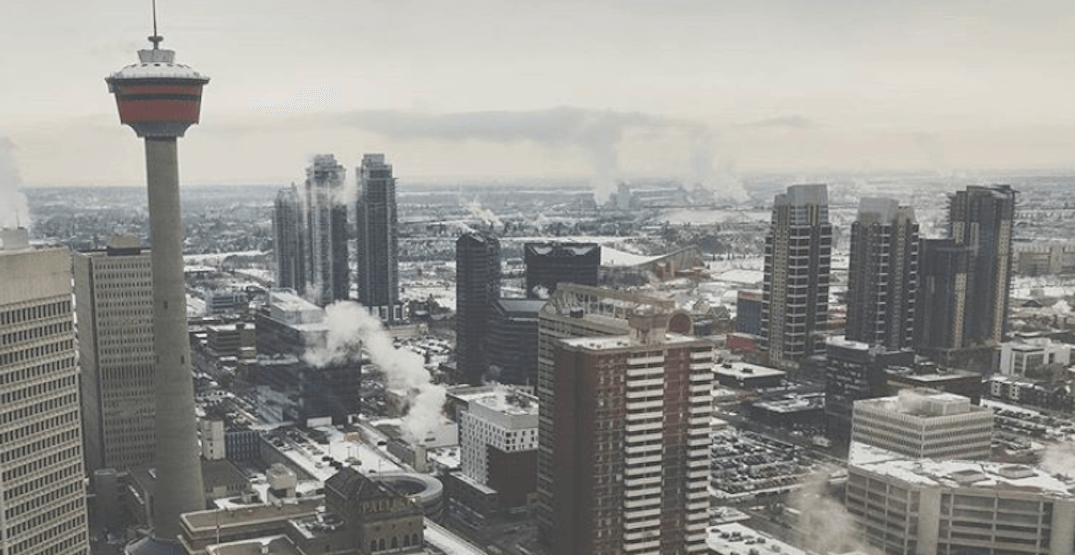 Cold and snowy few days ahead for Calgary this weekend