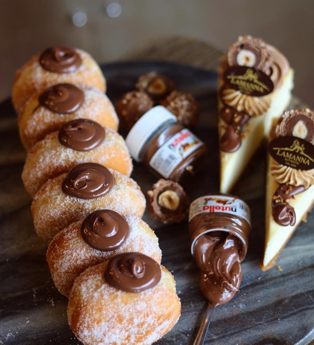 lamanna's world nutella day toronto food events