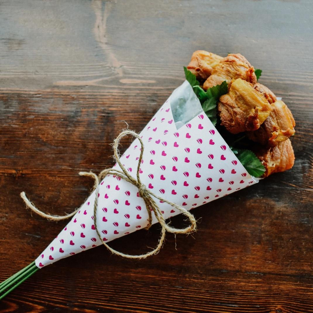 bae-con bouquet foodora bacon nation