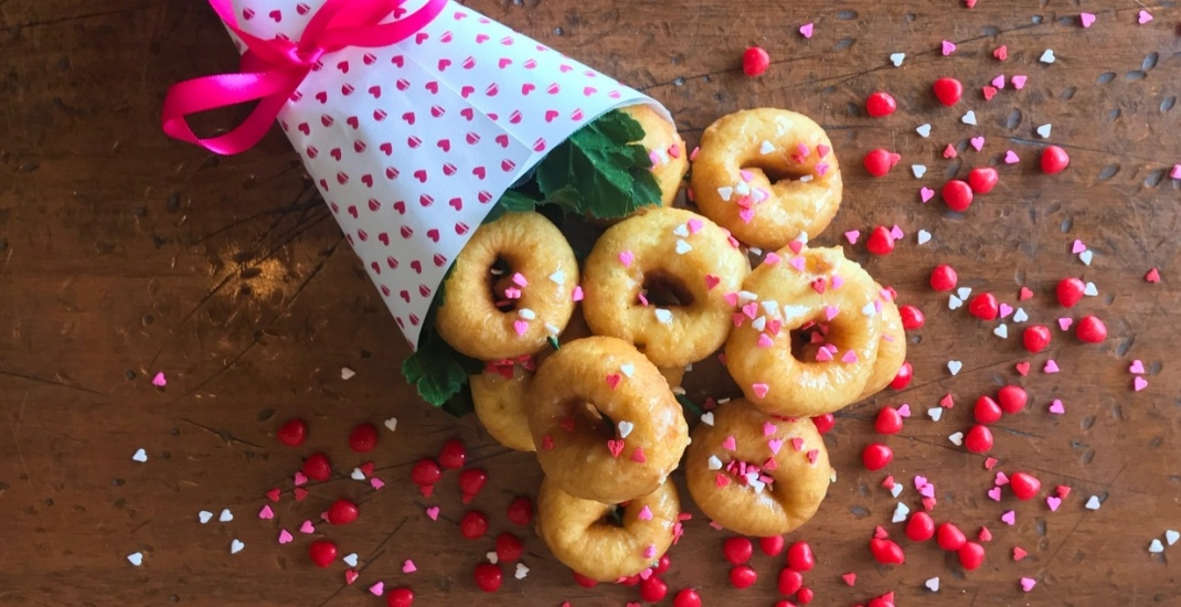 Doughnut and bacon bouquets now available in Toronto for Valentine's Day