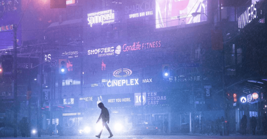 This TO photographer makes the city look like scenes out of Blade Runner (PHOTOS)
