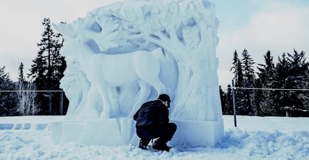 A massive ice kingdom and snow maze is coming to Whistler