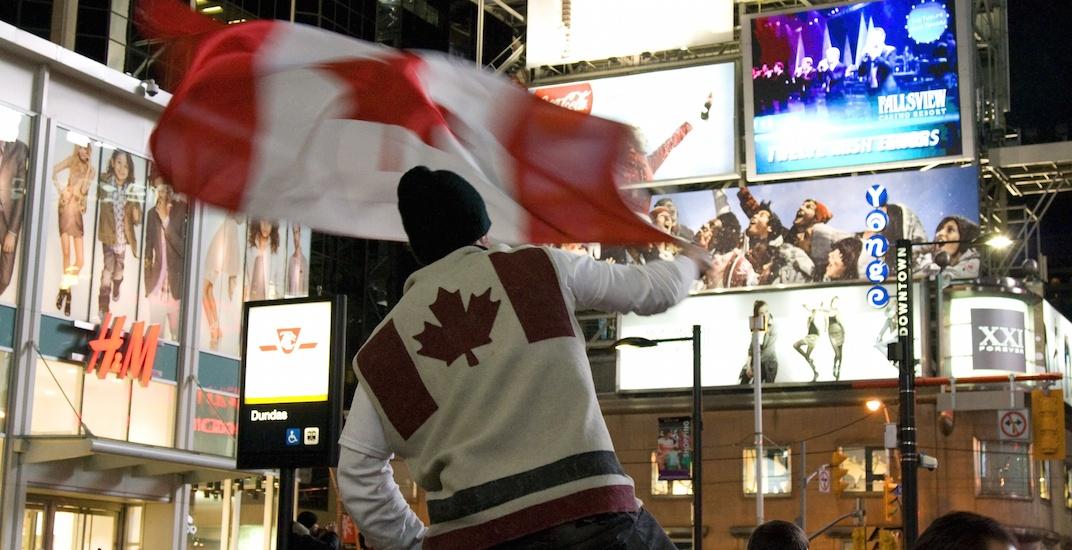 Toronto hockey canada fans