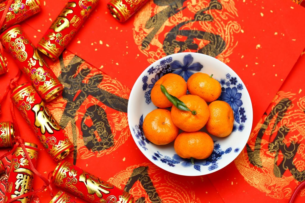 chinese new year lunar new year oranges