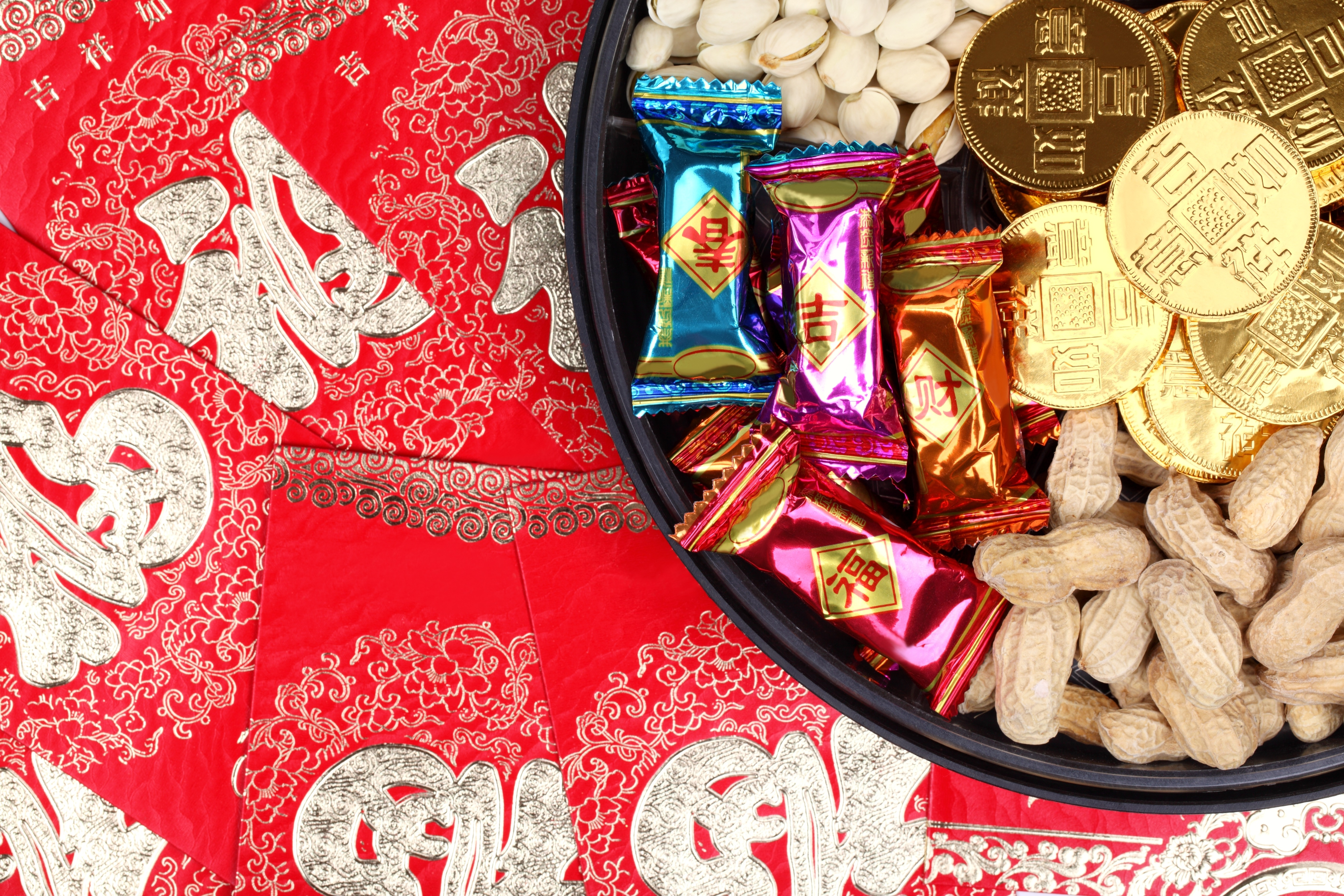 chinese new year tray of togetherness
