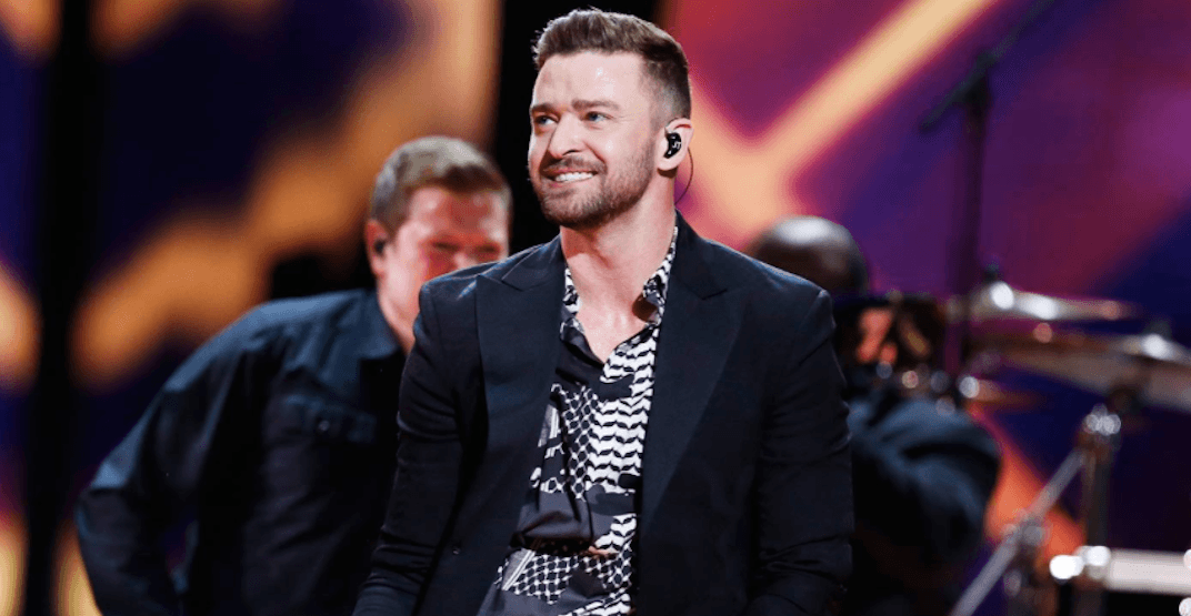 Justin Timberlake Vancouver 2018 concert at Rogers Arena