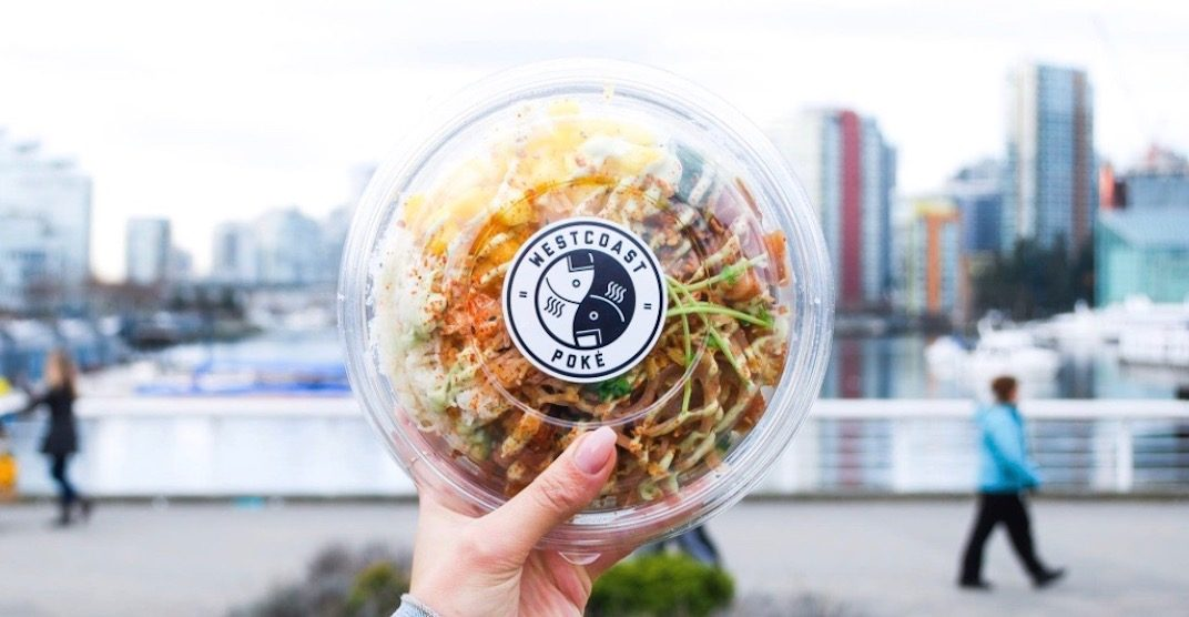 Get FREE poke bowls at Westcoast Poké's grand opening this month