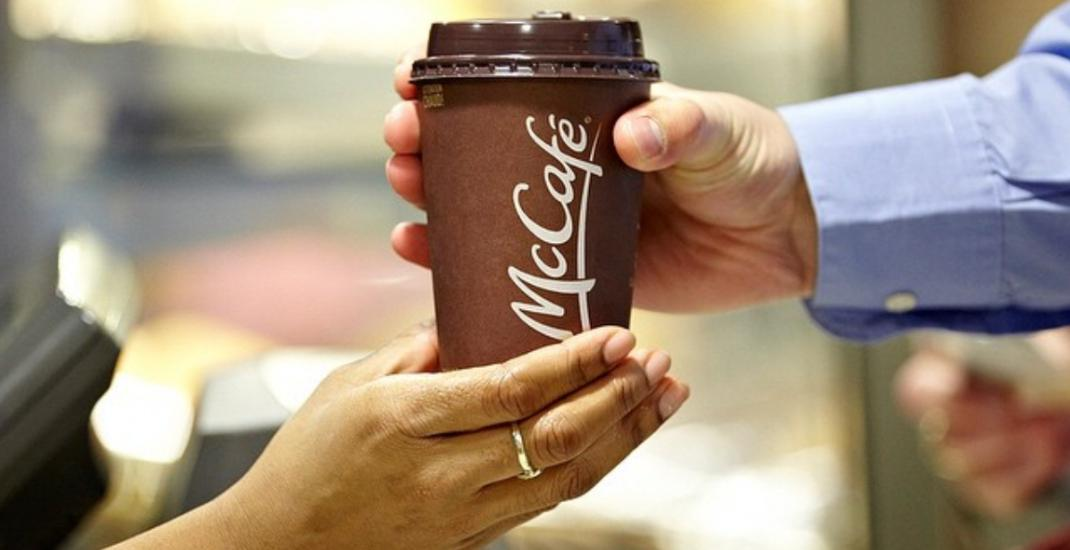 McDonald's selling any size coffee for just $1 for an entire month
