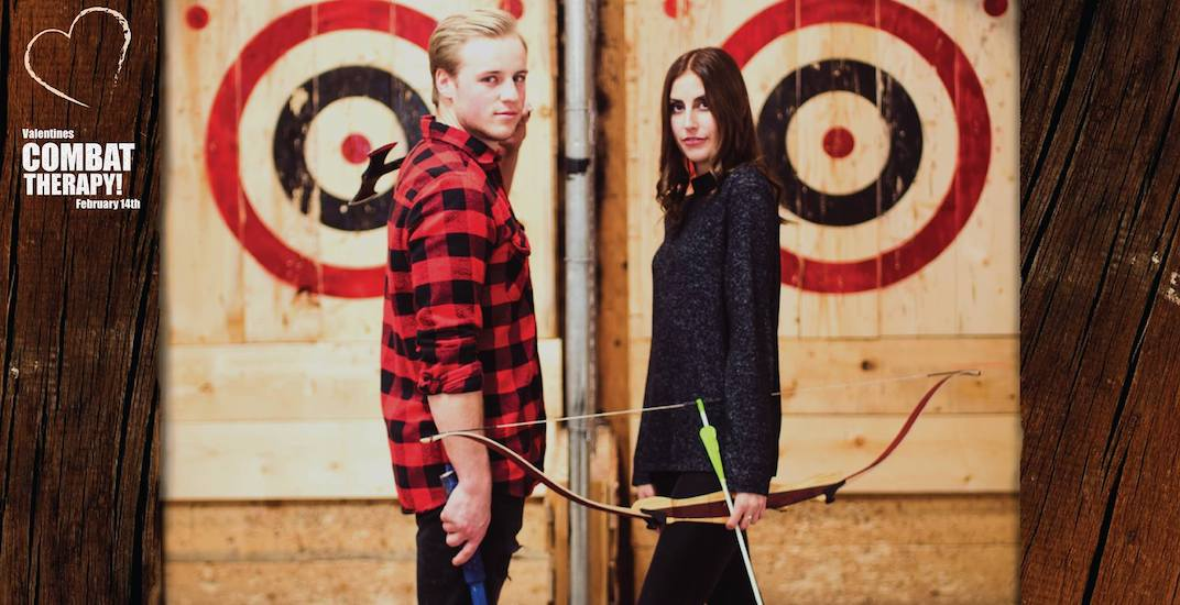 Valentine's Combat Therapy: Throw axes, shoot arrows this V-Day