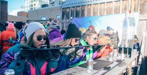 The Porch Toronto après-ski