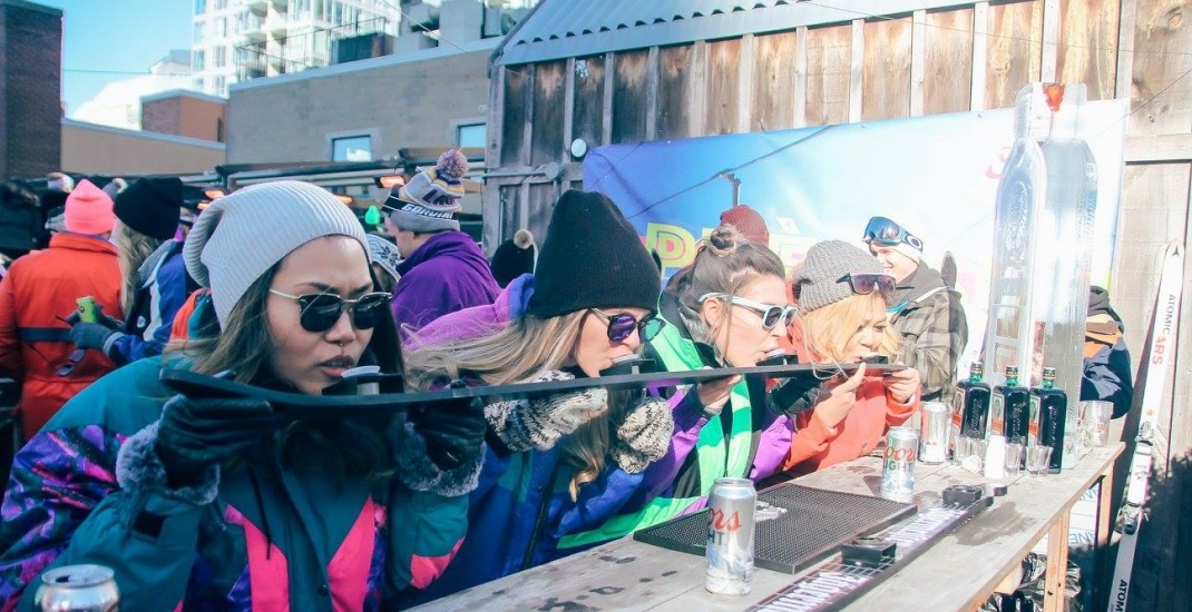 You can après-ski (sans the skiing) on a Toronto rooftop this month