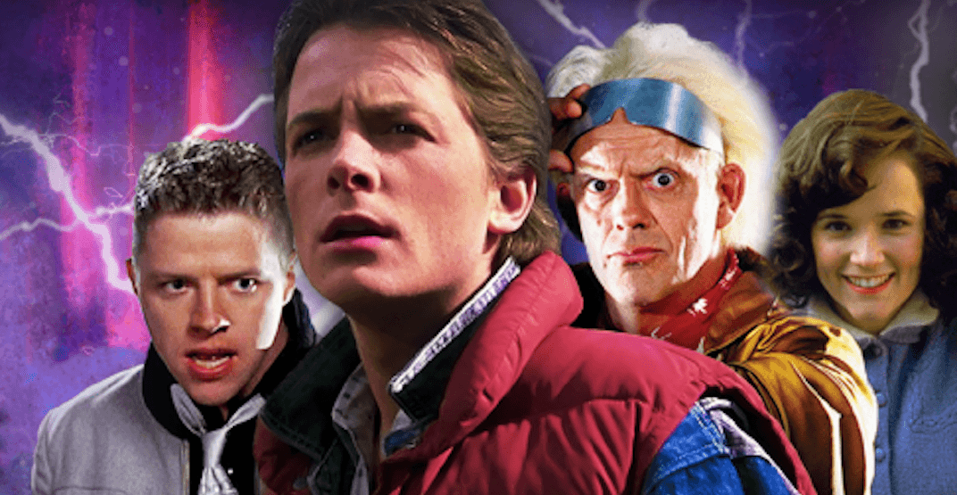 Back to the future special packages with the cast of