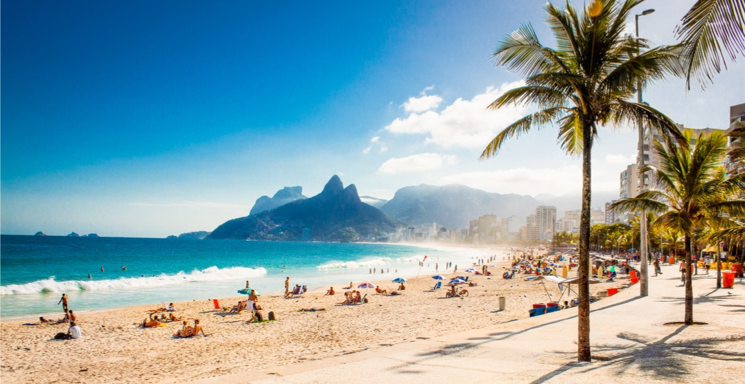 You can fly from Toronto to Rio de Janeiro for $530 roundtrip this spring