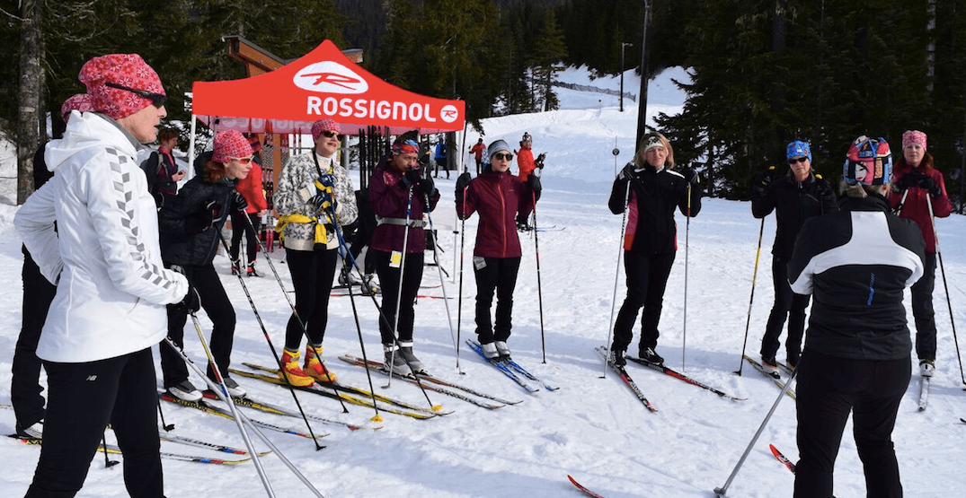 Whistler Olympic Park is hosting a 'Ladies Ski Day' on January 26