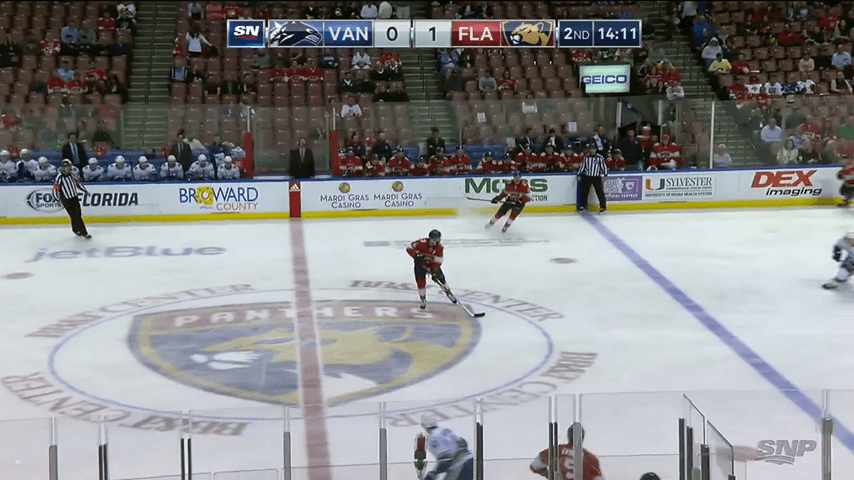12d6bcc8e SixPack  Canucks play boring game in front of mostly empty seats in ...