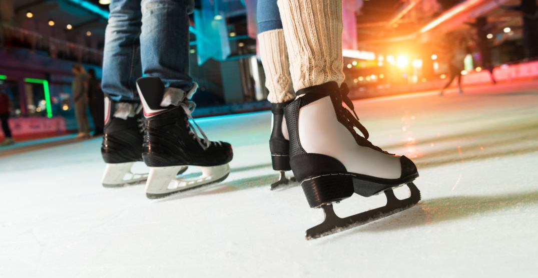 There's a dreamy skate party at The Bentway this Valentine's Day