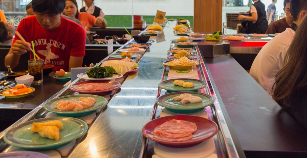 Opening soon: Toronto's first ever conveyor belt sushi bar