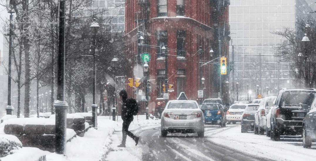 This is what the first official week of winter looks like in Toronto